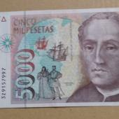 5000 pta Cristobal Colon