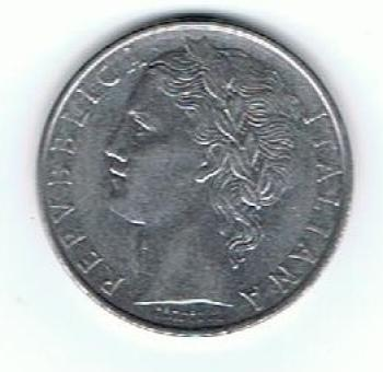 Republica Italiana 1965 - L.100