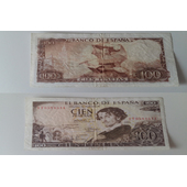 Billete 100 pts 1965
