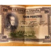 Billete 100 pts de 1925
