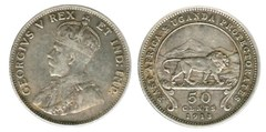 50 cents (George V)