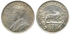 25 cents (George V)