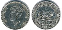 50 cents (George VI)
