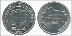 50 cèntims (Andorra) from