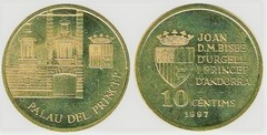 10 cèntims (Palacio del Príncipe) from