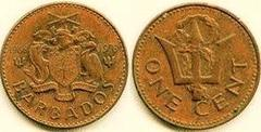 1 cent (10 Aniversario de la Independencia) from
