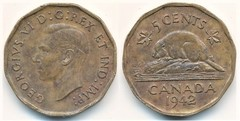 5 cents (George VI)