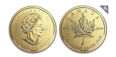 50 cents (Maple Leaf)