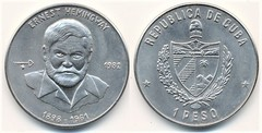 1 peso (Ernest Hemingway) from