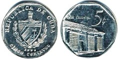 5 centavos (Peso Convertible) from