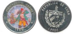 1 peso (Anne Bonny) from