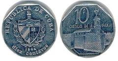 10 centavos (Peso Convertible) from
