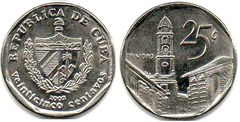 25 centavos (Peso Convertible) from