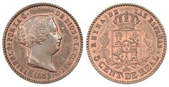 5 céntimos de real (Isabel II)