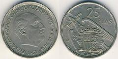 25 pesetas (Francisco Franco)