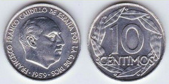 10 céntimos (Francisco Franco)