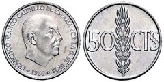 50 céntimos (Francisco Franco)