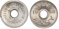 1 penique (George VI)