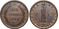 6 centimes from