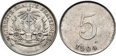 5 centimes from