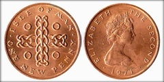 1 new penny