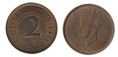 2 cents (George VI)