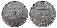 2,5 escudos (F.A.O. World Food Day 1983)