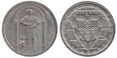 100 escudos (600th Anniversary of the Battle of Aljubarrota)