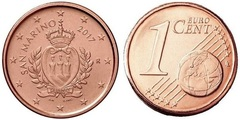 1 euro cent from
