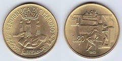 20 lire from