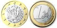 1 euro from