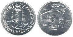 10 lire from