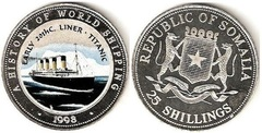 25 shillings (RMS Titanic) from
