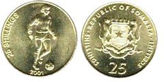 25 shillings from