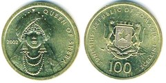 100 shillings from