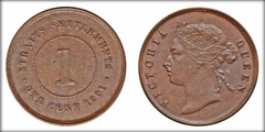 1 cent from