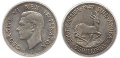 5 shillings (George VI)