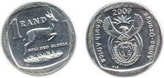 1 rand (South Africa-Afrika Dzonga)