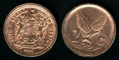 2 cents (Suid Afrika-South Africa)