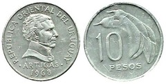 10 pesos from