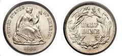 1 half dime (Seated Liberty)