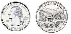 1/4 dollar (America The Beautiful - Great Smoky Mountains National Park)
