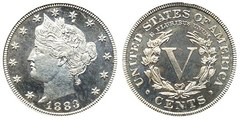 5 cents (Liberty Nickel)