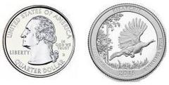 1/4 dollar (America The Beautiful - Kisatchie)