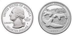1/4 dollar (America The Beautiful - Efigy Mounds)