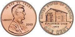 1 cent (Lincoln Penny) Early Childhood