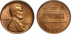 1 cent (Lincoln Memorial)